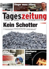 Tageszeitung aktuelle Ausgabe