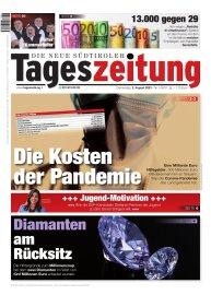 Tageszeitung aktuelle Ausgabe
